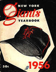 '56 Giants yearbook