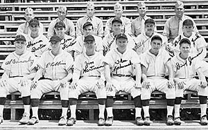marine baseball team